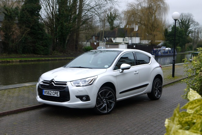 Citroen DS4 front view
