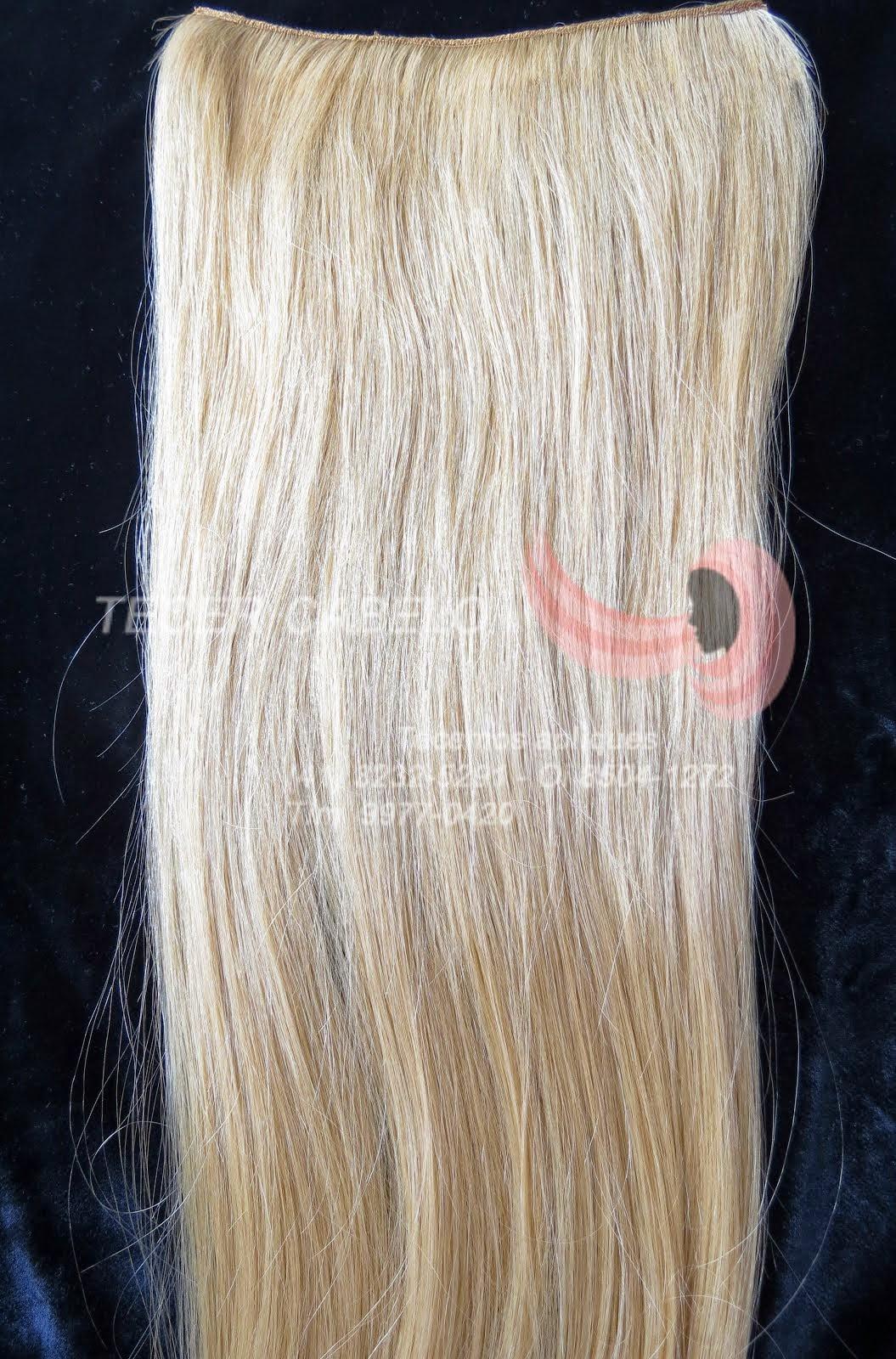 (10) Mega Hair - cabelo mechado loiro codigo (10) - Produto a venda