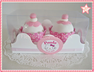 Cupcakes fondant Hello Kitty