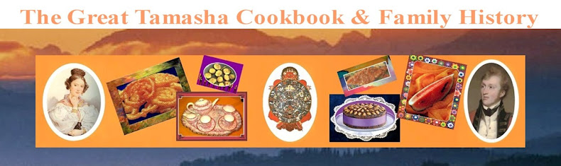 The Great Tamasha Cookbook & Family History