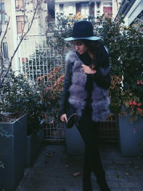 torna il freddo e mi tengo al caldo, torna il freddo e torno pure io, gilet di pelliccia, outfit fashion blogger, fashion need,valentina rago, fashion need blog, fashion blog, sammydress, gilet di pelliccia, eco pelliccia