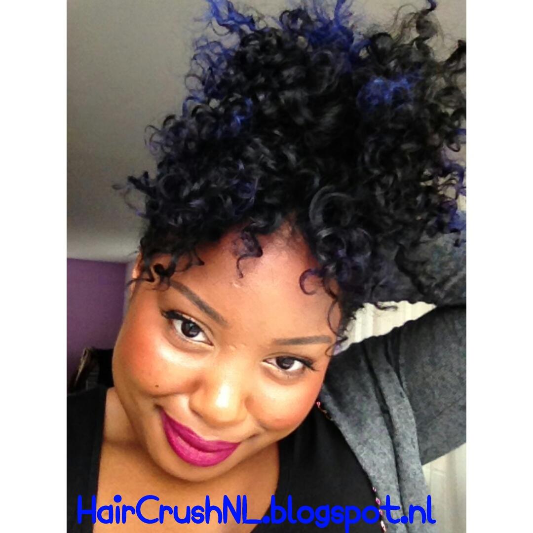 permanente blauwe haarverf