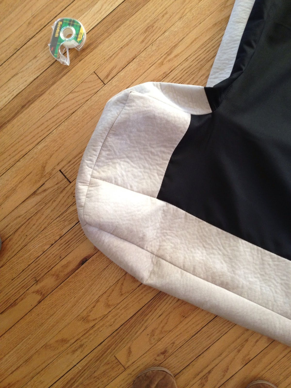 Inside out design how to re cover couch cushions for How to cover sofa cushion without sewing