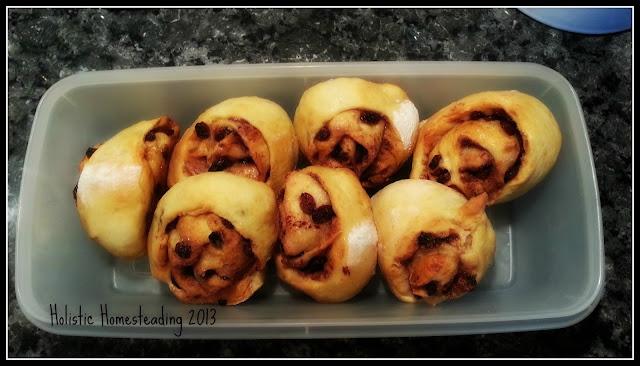 Chelsea buns cinnamon buns