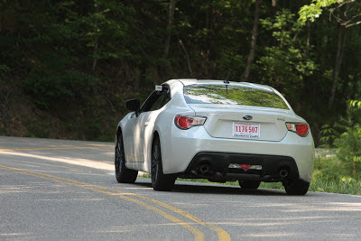 Subaru BRZ Road Rear