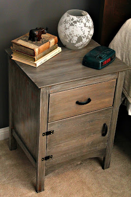 cerused nightstand