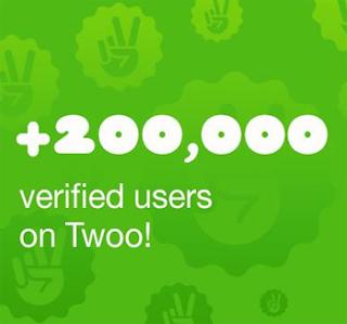 200.000 usuarios verificados en Twoo