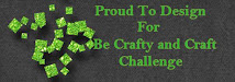 Be Crafty Challenge Design Team Member