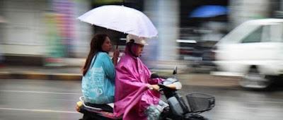 Tips berikut adalah untuk persiapan saat hujan tiba