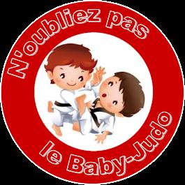 N'oubliez pas le Baby Judo !