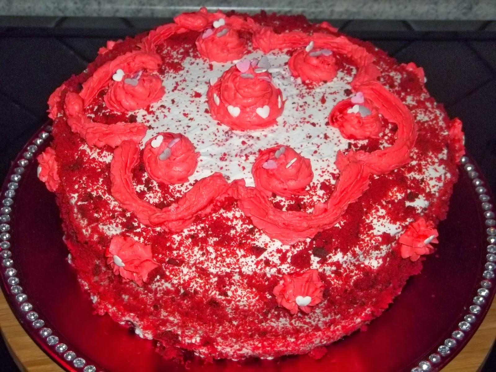 .. dall'america ecco finalmente la mia red velvet  per s.valentino ^__^ ...
