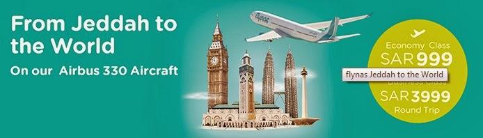 Flight ke Jeddah