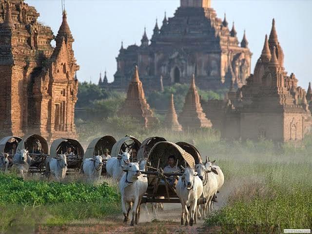 รีวิวเที่ยวพม่าด้วยตัวเอง มัณฑะเลย์ โมนยวา พุกาม อินเล ย่างกุ้ง สิเรียม พระธาตุอินทร์แขวน