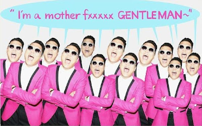Lyrics PSY gentleman Video