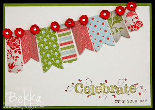 Birthday Card with Bunting