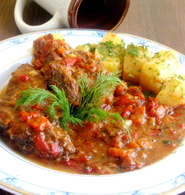 Osso bucco milanez blogs de cuisine - Cuisine italienne osso bucco ...