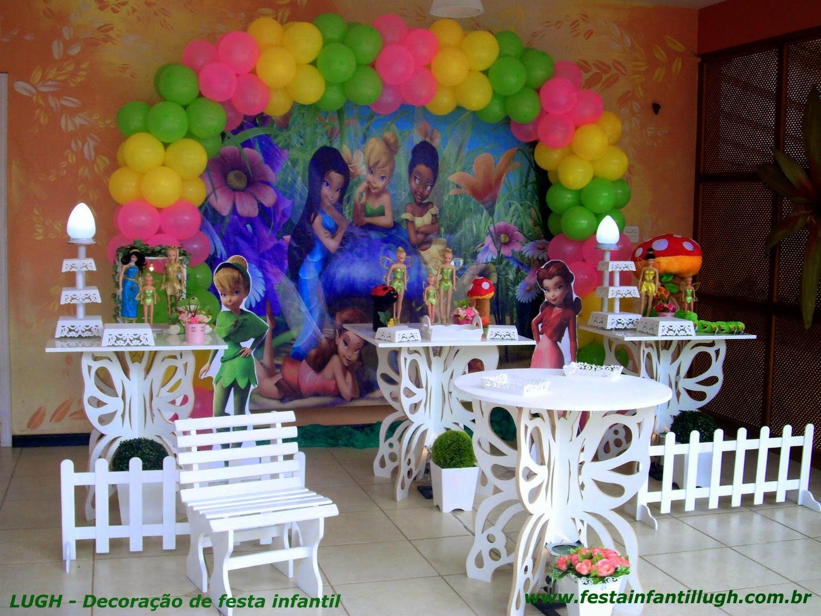 mesa provençal infantil - decoração de festa de aniversário de meninas