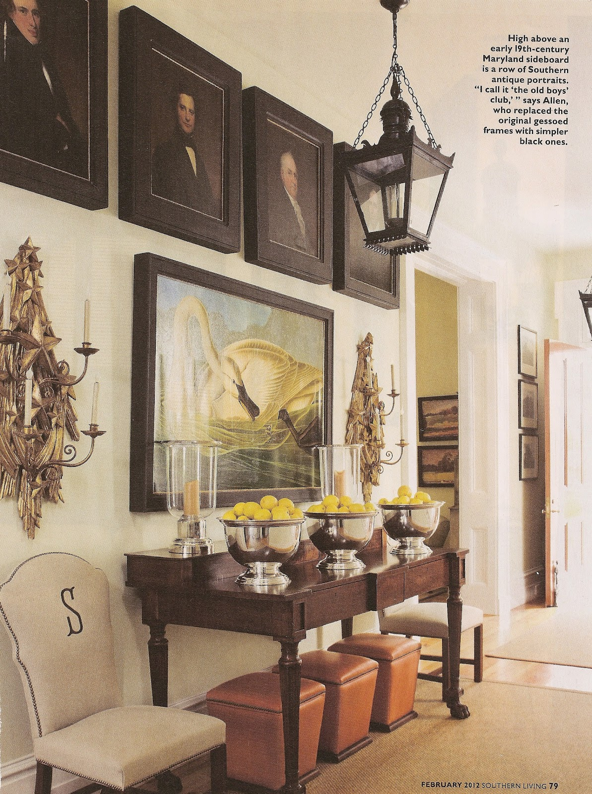 Acanthus and acorn let 39 s fall in love with p allen smith for P allen smith living room