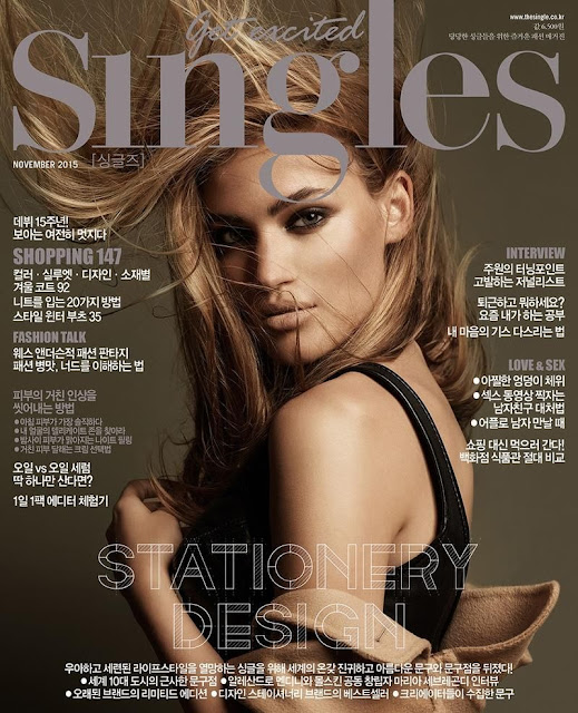 Fashion Model @ Sonya Gorelova - Singles South Korea, November 2015