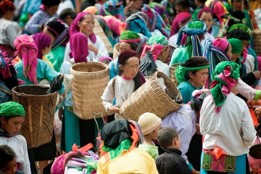 ethic market in ha Giang