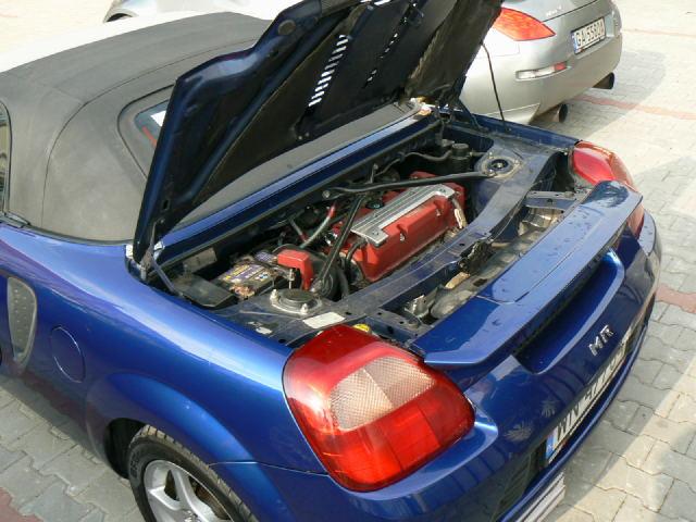 Toyota MR2, Spyder, MK3, japoński roadster, ZZW30, mid-engine, JDM, zdjęcia, wygląd, III, Honda K20A, swap, Polska