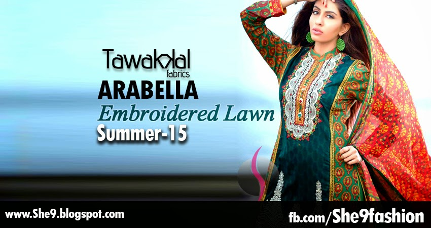 Arabella Embroidered Lawn Collection