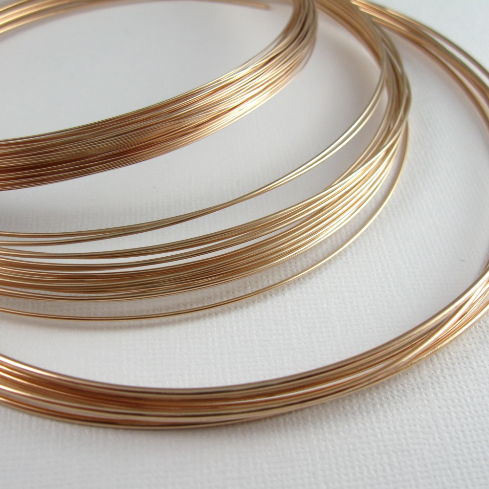 Wickwire Jewelry: Bronze Wire is Finally Here!