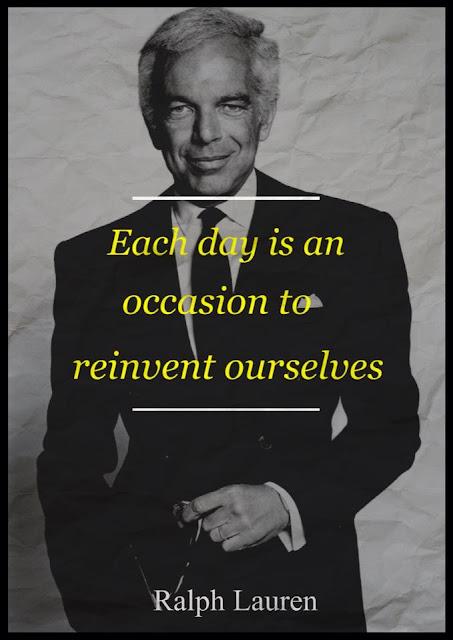 Recent Ralph Lauren Quotes