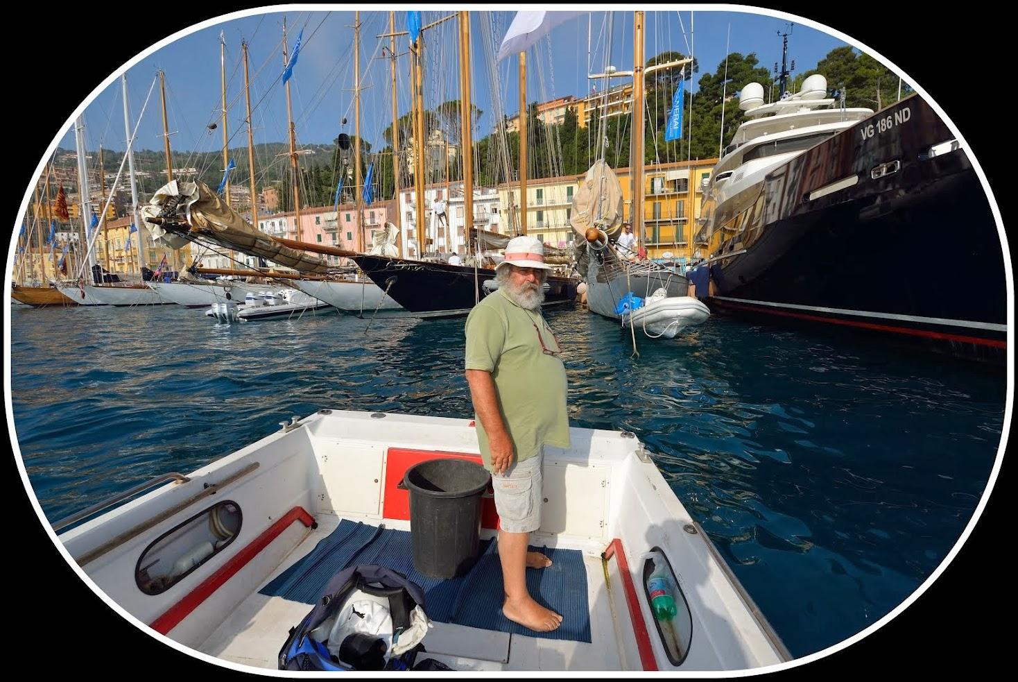 Porto Santo Stefano, Vittorio padron di barca