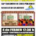 Concentració 4 de febrer a les 17:30!
