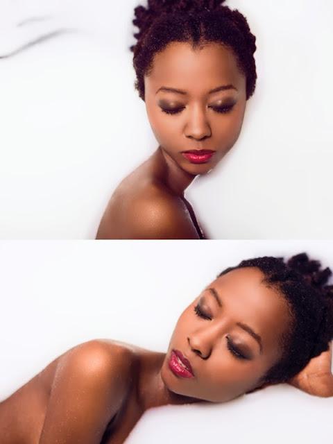 maquillaje con aerógrafo en piel negra, Alicia LaTorre,Stylestudio MAKE UP