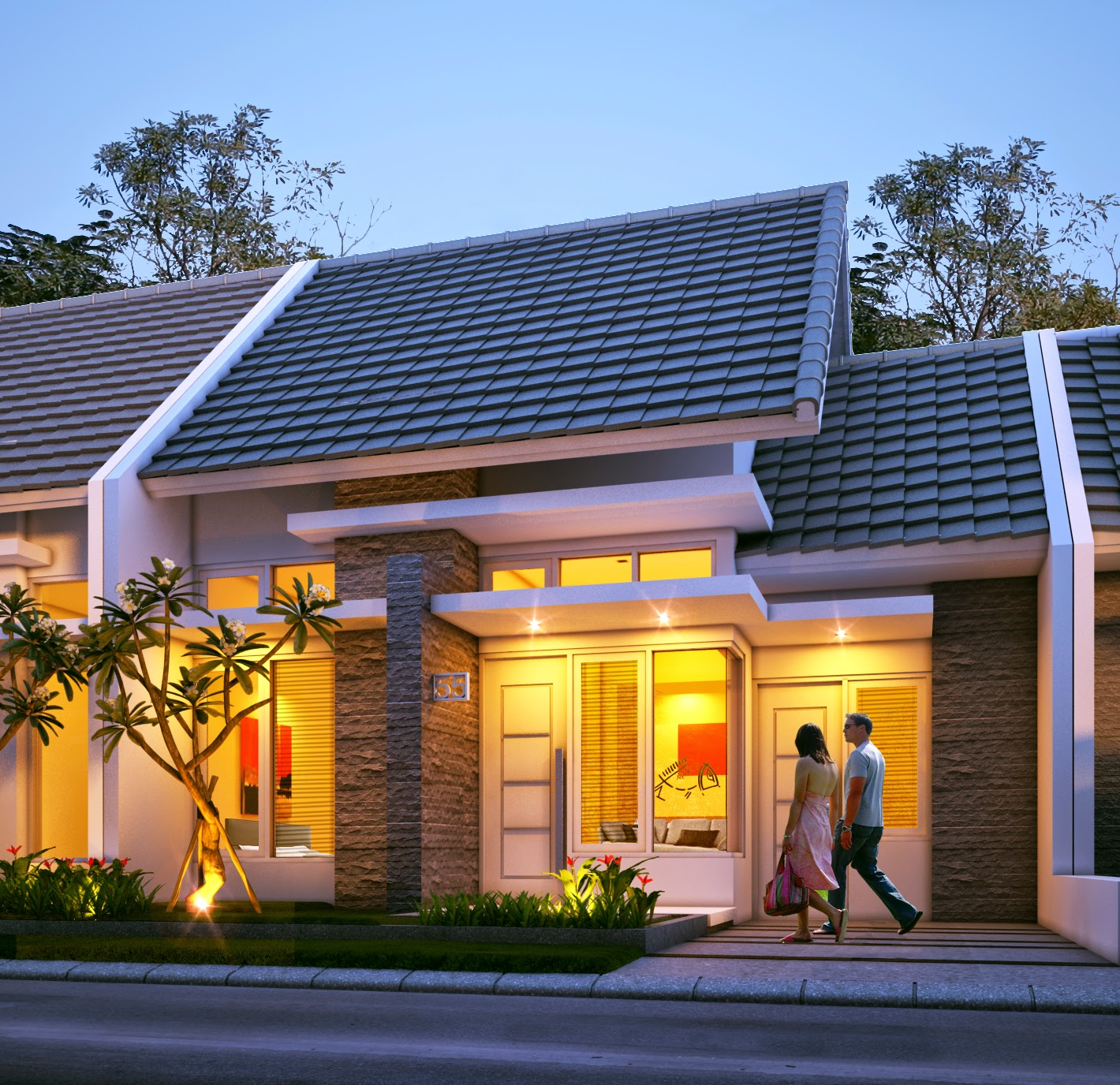 Video Desain Rumah Minimalis Type 45 Desain Properti Indonesia