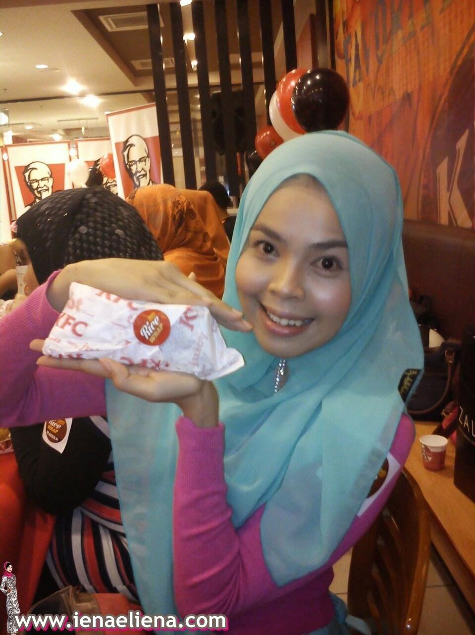 KFC Zinger Rice Wrap
