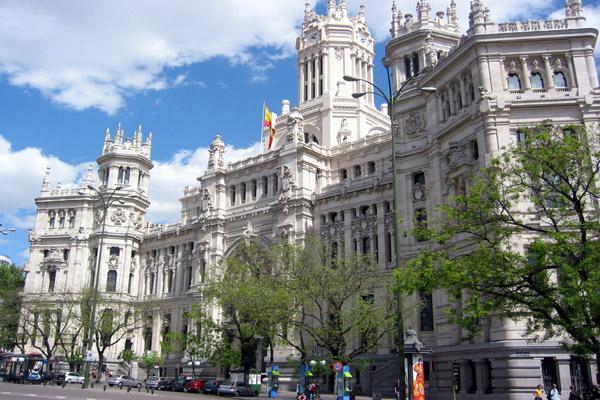 Encuentro con mi yo un paseo por la capital for Edificio correos madrid