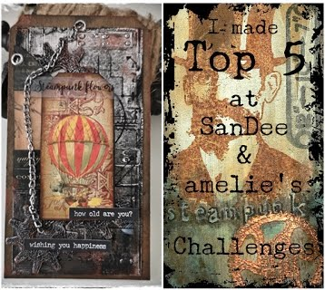 Top 5 Steampunk Challenges - September 2019