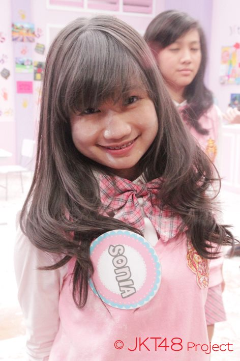 Foto-foto sonia JKT48 at JKT48 School episode 8