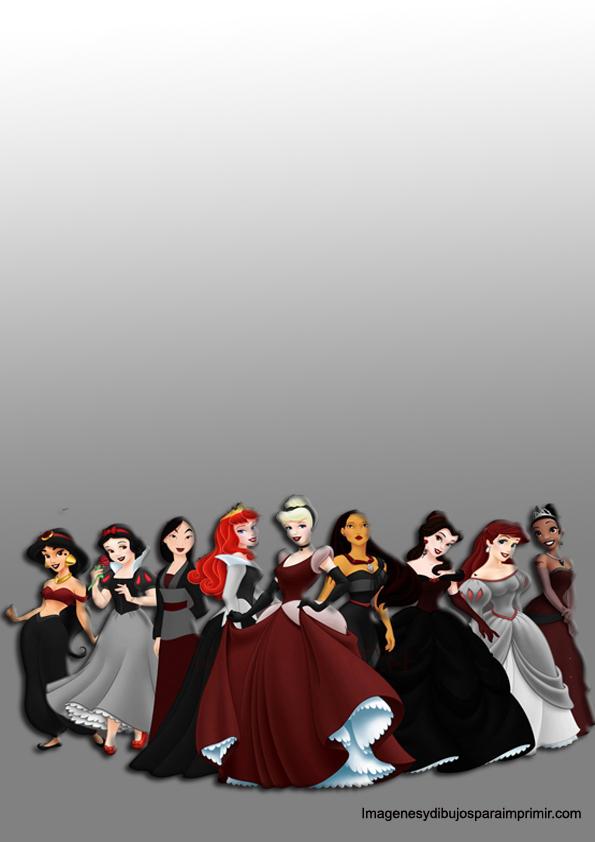Disney princess printable paper