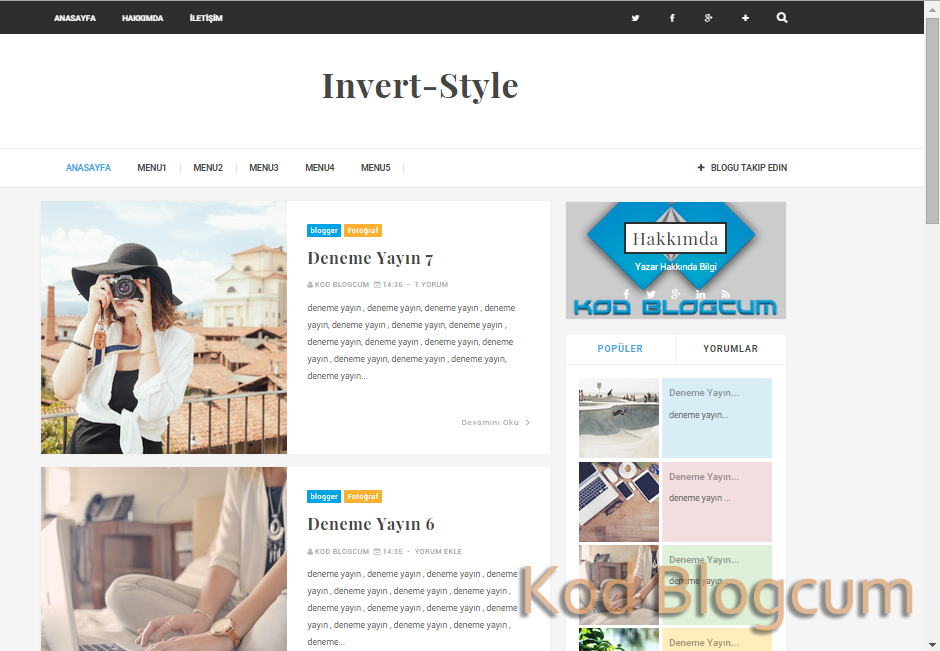 invertstyle-kisisel-blogger-teması-turkce