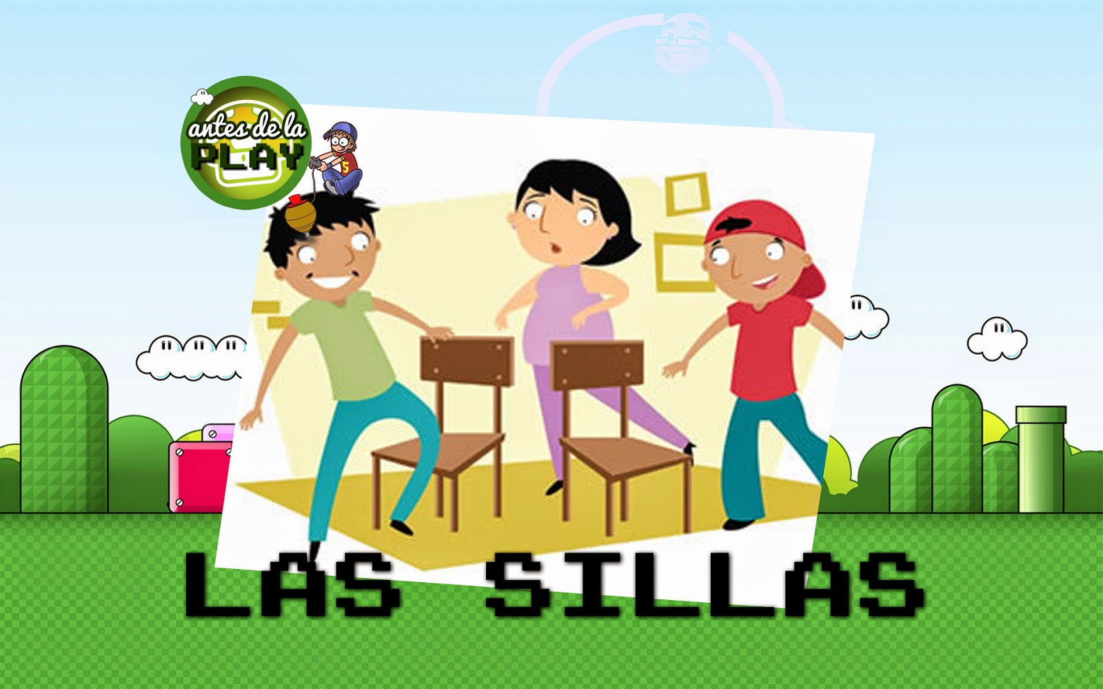 Antes de la play las sillas la eduteca for Sillas para jugar a la play