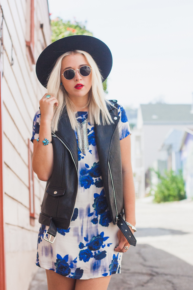 Cool Boho Outfit Idea by Bryn Newman of San Francisco Style Blog, Stone Fox Style. Discover new indie folk music by the Australian band Husky and get style inspiration! The 2Bandits, Missguided, White Crow, Azalea SF.