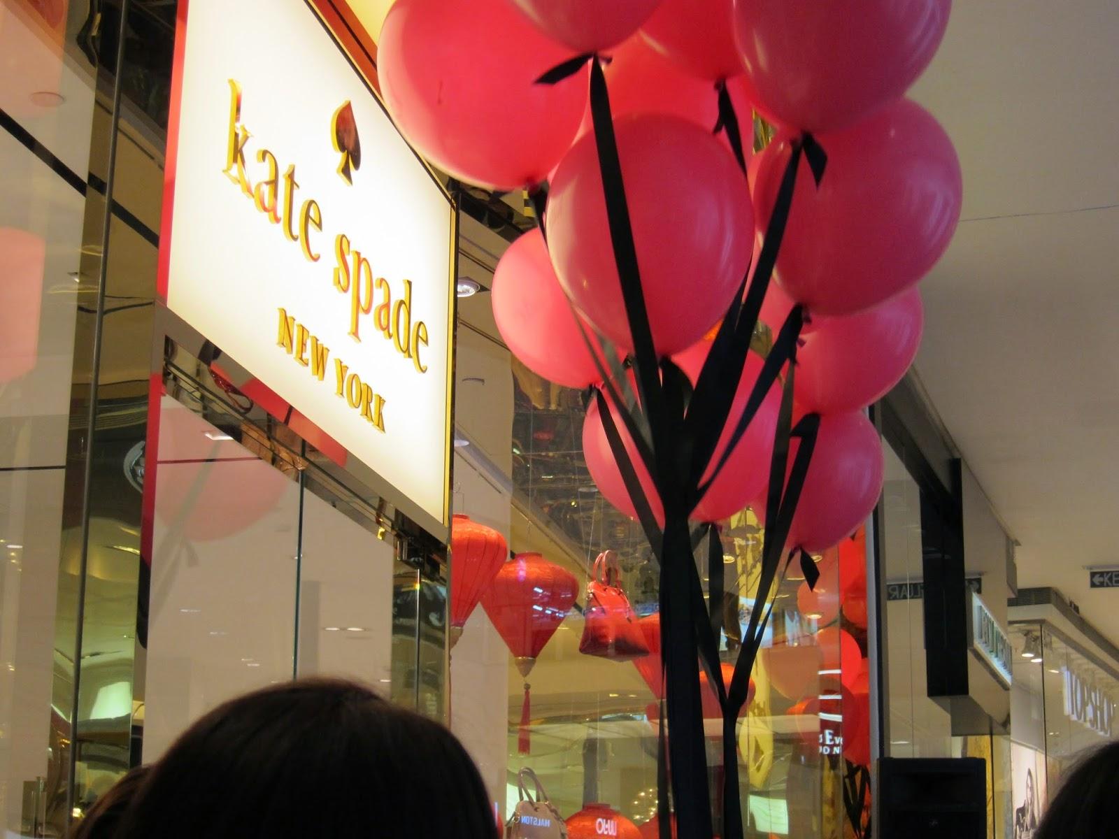 Event Post: Kate Spade Store Launch @ Pavilion KL