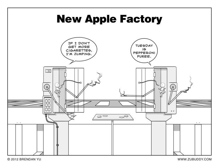 New Apple Factory