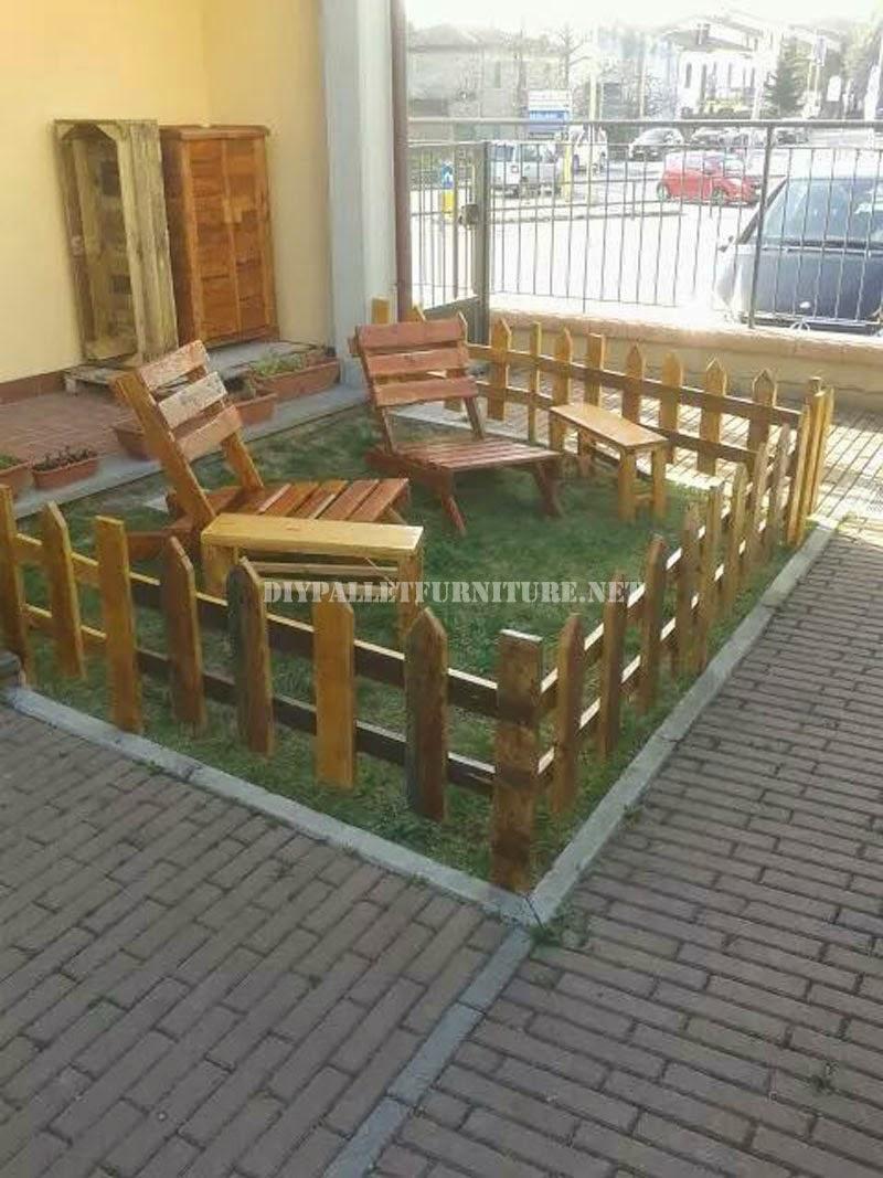 Muebles de palets mesas for Muebles de jardin hechos con tarimas