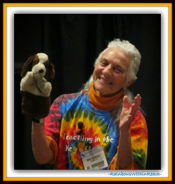 Mimi Chenfeld at NAEYC2014 Dallas: Sharing and Story Telling