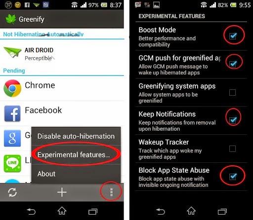 Mengecilkan penggunaan RAM aplikasi wechat whatsapp BBM Line
