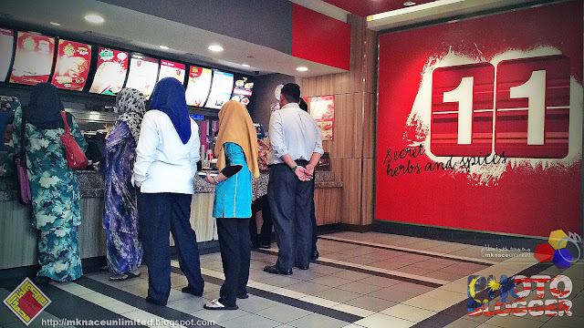 KFC Larkin Central Tapau Session
