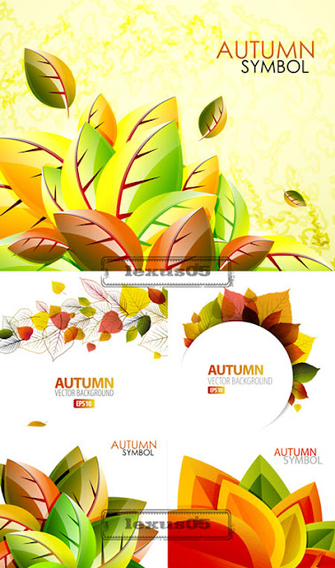 Autumn Vector Backgrounds