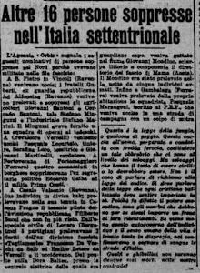 """""""IL POPOLO"""" 25 GIUGNO 1945"""