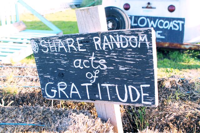 Share Random Acts of Gratitude