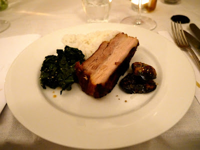Braised pork belly, One Mile Bakery Supper Club Cardiff